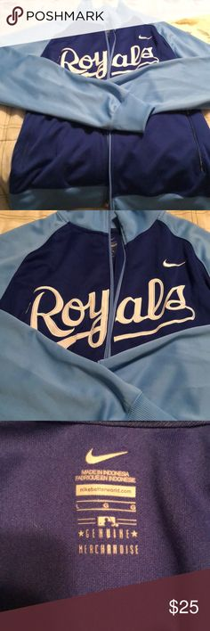6e3533236 Authentic Nike Kansas City Royals jacket Men s size Large. Excellent used  condition
