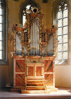 Evang. Mauritiuskirche - Ofterdingen, Metzler orgelbau 1995