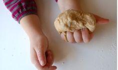 Peanut Butter Edible Playdough Recipe