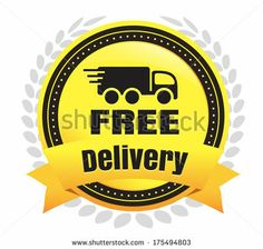 Free Delivery Ecommerce Badge