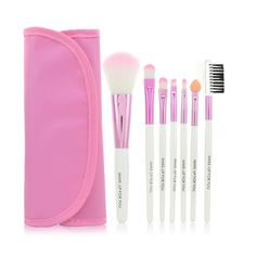 Pink Color Brand New Fashion Professional 7 pcs Makeup Brush Set tools HOT Make up Toiletry Kit Wool Make Up Brush Set Case-in Makeup Brushes & Tools from Health & Beauty on Aliexpress.com   Alibaba Group