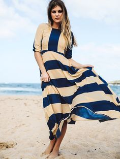 #Stripes #SummerStyle #MaxiDresses