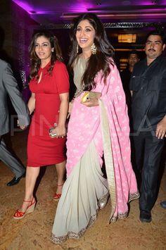 Shilpa Shetty & Raveena Tandon at Satyug Gold launch   PINKVILLA