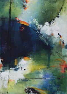 Abstrakte malerei  Abstrakte Kunst  Abstrakter Expressionismus  Acrylgemälde