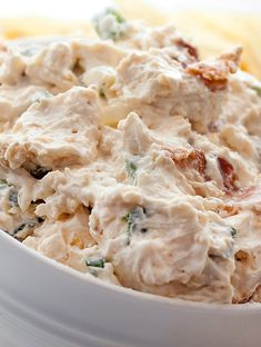 Bacon Cheese Dip Recipe with horseradish and Worcestershire ~ so yummy