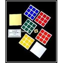 Adesivo P/ Cubos Magicos 3x3 Dayan P/ Zanchi 50mm Chanfrado