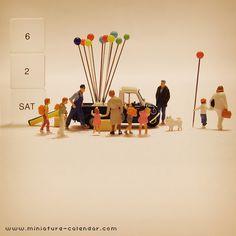miniature calendar 6.2 -Balloon-