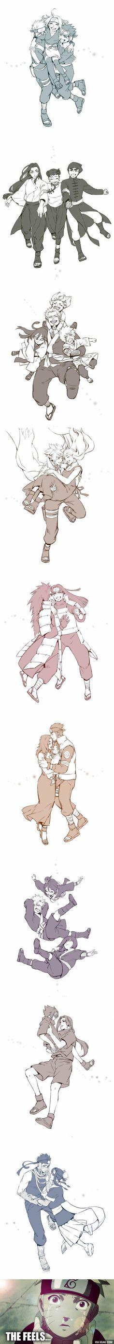 Fan Artist reimagines happy ending for tragic Naruto characters (By Black Marlboro) Más イタチ と サスケ. Kakashi, Naruto Shippuden Anime, Sarada Uchiha, Gaara, Manga Anime, Anime Naruto, Naruto And Sasuke, Naruto Funny, Tamako Love Story