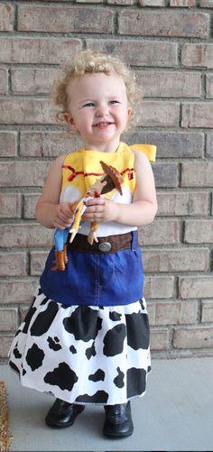 Cowgirl jessie Woody inspired dress up apron by ThreeDutchDivas