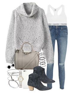 """""""Sin título #3068"""" by hellomissapple ❤ liked on Polyvore featuring Calvin Klein Underwear, Paige Denim, Alexander Wang, Isabel Marant, Black Apple, M.N.G, Burberry, Michael Kors and Topshop"""