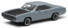 "Dom's 1970 Dodge Charger R/T Primered Grey ""Fast and Furious"" (2009) 1/43 by Greenlight Collectables   http://www.amazon.com/dp/B00QJ3ZZ6Q/ref=cm_sw_r_pi_dp_E.givb118FBYG"