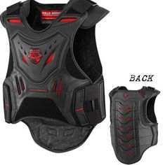 Stryker vest, the mens version!**Low profile back armor with high profile design. Back protection for tactical riding. The original Field Armor vest set a benchmark in the back protector world - the Stryker ups the ante. The back protector is loaded with d3o intelligent foam and full CE approval, the Field Armor Stryker Vest back armor is designed to take hits you hope will never come. Rock it under your jacket or over a hoody - just wear it.