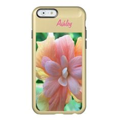 Beautiful Hibiscus iPhone 6 Feather Shine Case