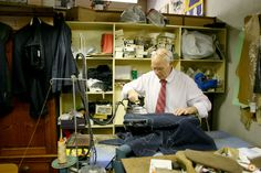 """""""Sartoria Piero Cisternino"""" celebrates its 50th anniversary Scabal wishes him a lot more bespoke years to come !  The full story on http://www.scabal.com/en/world-of-scabal/news/1480/""""Sartoria-Piero-Cisternino""""-celebrates-its-50th-anniversary-"""
