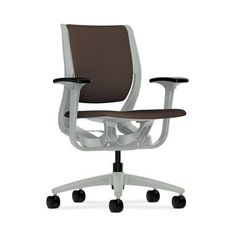 HON Purpose Mid-Back Desk Chair Upholstery Color: