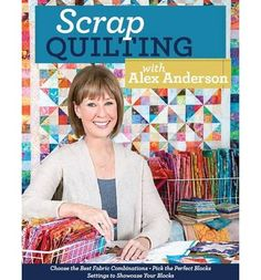 Shows you how to make scrap quilts. This title lets you use your stash and your scrap bin to make 7 colourful quilts. It also reveals the best scrap quilting secrets such as which blocks and settings work best in scrappy quilts, and how to combine fabric colours, prints, and values so your creations look exciting, not overpowering.
