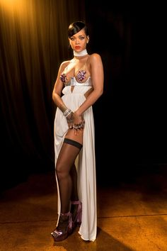 Rihanna Is the Ultimate Fashion Icon   W Magazine   Women's Fashion & Celebrity News Rihanna Dress, Rihanna Outfits, Moda Rihanna, Rihanna Fenty, Looks Rihanna, Rihanna Style, Rihanna Show, Beyonce, Sheer Gown