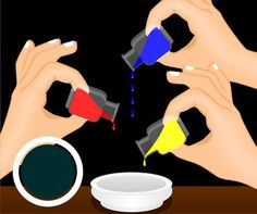 Food Coloring Combinations To Make Black