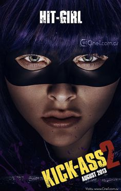 Check Out The Hit Girl Character Poster From Kick-Ass 2