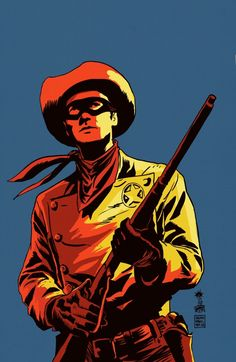 The Lone Ranger #22, Cover Art by Francesco Francavilla