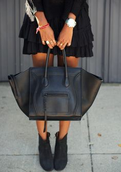 Just throw it in the bag on Pinterest | Celine, Chanel Boy Bag and ...