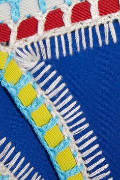 Finds + Kiini Tuesday crochet-trimmed triangle bikini NET-A-PORTER.COM