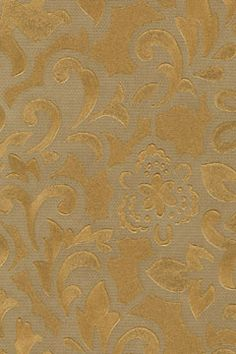 Gold Textured Wallpaper Floral | OPULENCE | AmericanBlinds.com