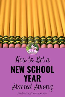 How to Get an Amazing New Year Started Strong Teacher Organization, Teacher Hacks, New School Year, Back To School, Teaching Math, Teaching Resources, New Students, Elementary Teacher, Grade 3