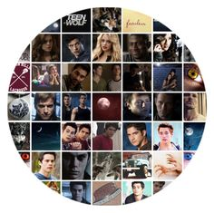 """""""Teen Wolf"""" by hobbits-and-elves ❤ liked on Polyvore featuring art"""