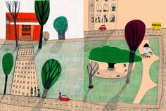 Picture books by Catarina Sobral, via Behance