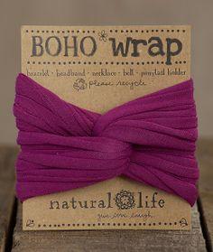 Multipurpose Boho Wraps From Natural Life