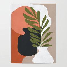 Abstract Art 40 Framed Mini Art Print by ThingDesign - Light Wood - x Painting Inspiration, Art Inspo, Tableau Pop Art, Guache, Minimalist Art, Art Projects, Art Drawings, Abstract Art, Canvas Art