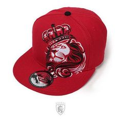 cf2ab2fd6f4 OG ABEL LION CROWN RED INK URBAN TATTOO PUNK LEO FIERCE SNAPBACK HAT CAP  HTSB005