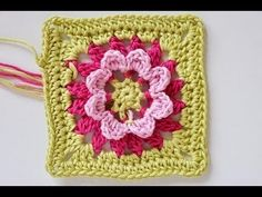 "Advent Calendar * December 12 * Granny Square ""ZenGarden"""