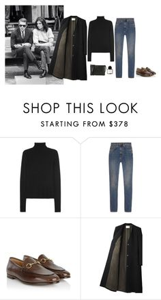 """Untitled #332"" by inlateautumn ❤ liked on Polyvore featuring Calvin Klein Collection, Yves Saint Laurent, Gucci, CÉLINE and Byredo"