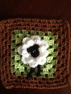 Crochet Squares Afghan, Crochet Quilt, Crochet Blocks, Crochet Granny, Crochet Motif, Diy Crochet, Crochet Patterns, Granny Squares, Knitting Stiches