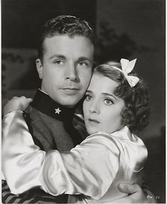 Ruby Keeler Dick Powell Flirtation Walk 1934  I've seen every musical he's made. Love his voice!
