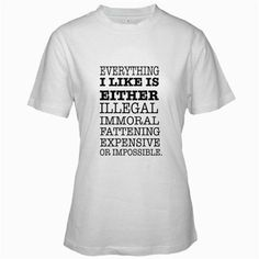 Funny T-shirts for Teen Girls - I Wear T-shirts | ...☺ Christmas ...