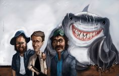 Fish are friends, not food! These three guys however? Up for grabs!