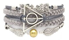 "Awesome Deathly Hallows bracelet I bought today! Use code ""wizardry"" at checkout for 60% off!"