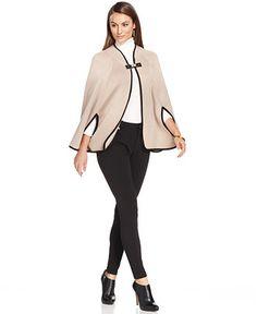 Calvin Klein Capelet - Coats - Women - Macy's