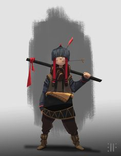 ArtStation - The Nonchalant Scout, David Fortin