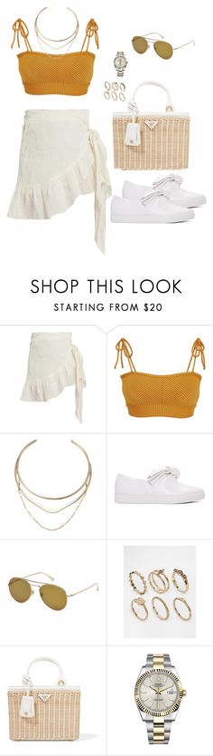 """""""Untitled #2266"""" by andreagm ❤ liked on Polyvore featuring Étoile Isabel Marant, Made By Dawn, GUESS, Cédric Charlier, Tom Ford, ASOS, Prada and Rolex"""