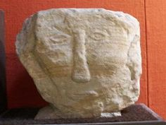 Head from Castleton, South Yorkshire (Sheffield Museum). Brigantes Nation Celtic Heads