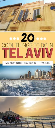 The 20 best things to do in Tel Aviv, Israel: from the beach to the religious sites, this post will help you decide what to do in Tel Aviv. | Tel Avic travel bucket lists | Tel Aviv beaches | What to see in Tel Aviv #telaviv - via @clautavani
