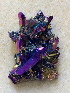 Titanium-coated quartz.