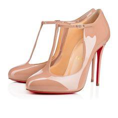 CHRISTIAN LOUBOUTIN Tpoppins 100 Patent Patent - Shoes - Women. #christianlouboutin #shoes #