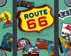 Route 66 (Stickers)
