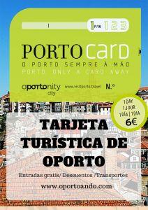 Tarjeta de Ahorros de Oporto Porto Card
