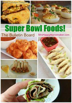 Super Bowl Foods!